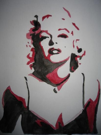 Marilyn Monroe by thomas